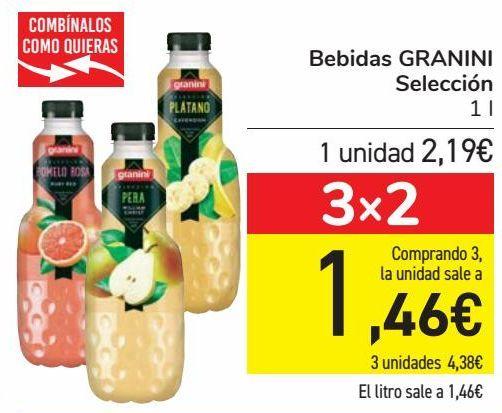 Oferta de Bebidas GRANINI Selección  por 2,19€
