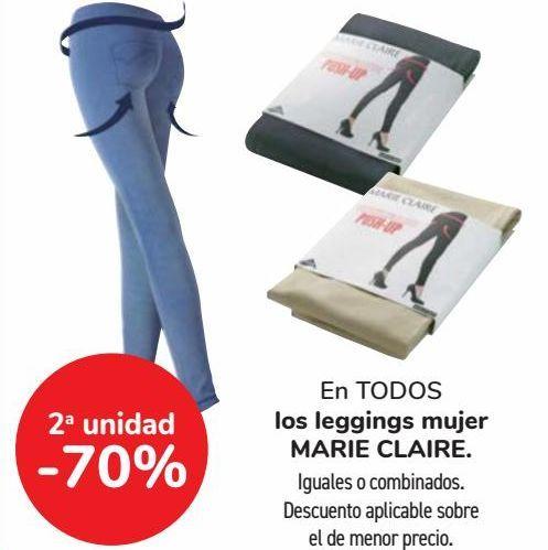 Oferta de En TODOS los leggings mujer MARIE CLAIRE  por