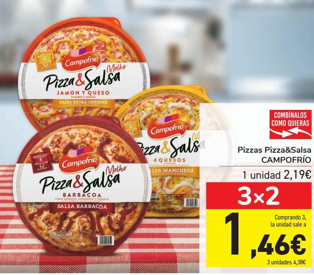 Oferta de Pizzas Pizza&Salsa CAMPOFRÍO  por 2,19€
