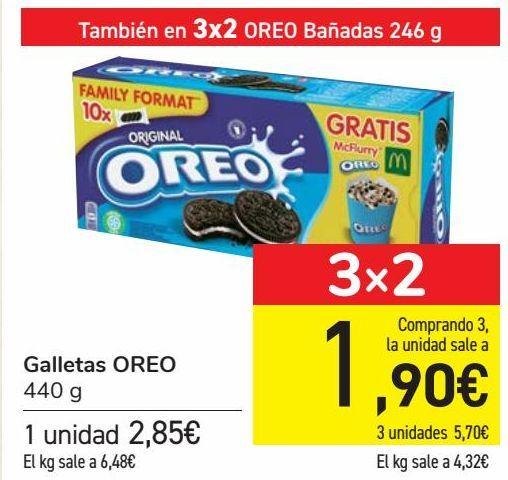 Oferta de Galletas OREO  por 2,85€