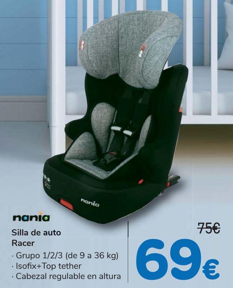 Oferta de Silla  de auto Racer Nania  por 69€