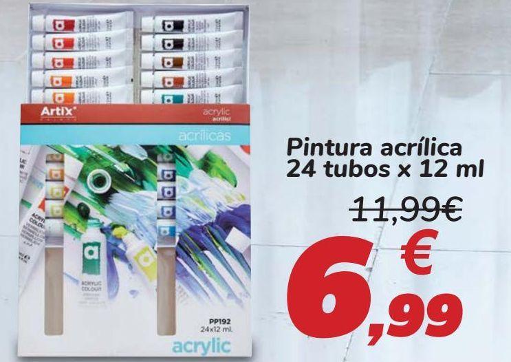 Oferta de Pintura acrílica  por 6,99€