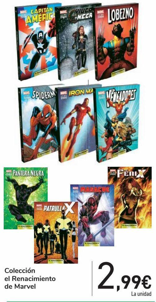 Oferta de Colección el Renacimiento de Marvel por 2,99€