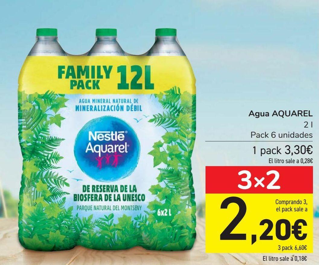 Oferta de Agua AQUAREL  por 3,3€