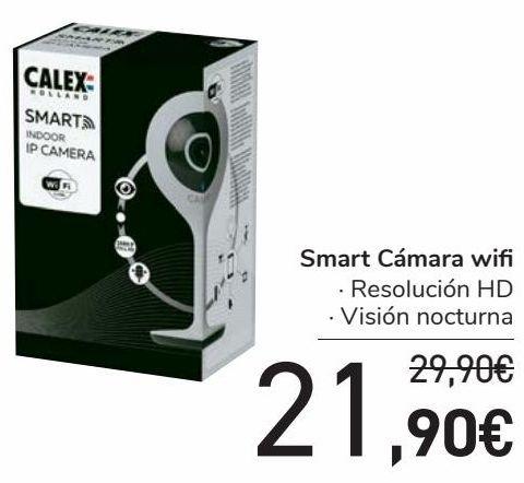 Oferta de Smart Cámara wifi  por 21,9€