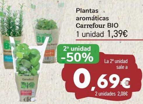 Oferta de Plantas aromáticas Carrefour BIO  por 1,39€
