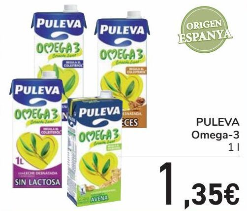 Oferta de PULEVA Omega-3 por 1,35€
