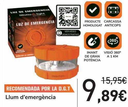 Oferta de Luz de emergencia  por 9,89€