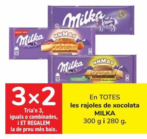 Oferta de En TODAS las tabletas de chocolate MILKA  por