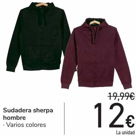 Oferta de Sudadera Sherpa hombre  por 12€
