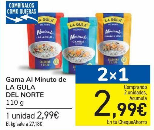 Oferta de Gama Al Minuto de LA GULA DEL NORTE por 2,99€