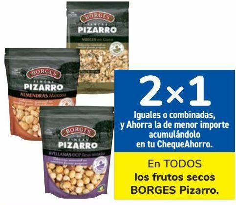 Oferta de En TODOS los frutos secos BORGES Pizarro  por