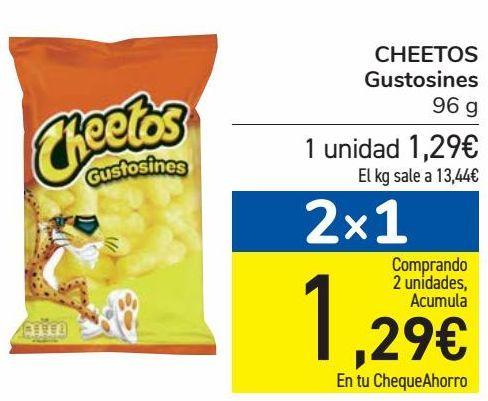 Oferta de CHEETOS Gustosines  por 1,29€