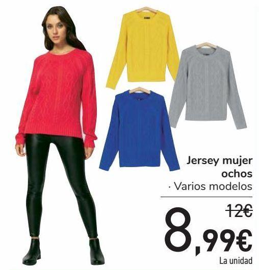 Oferta de Jersey mujer ochos  por 8,99€