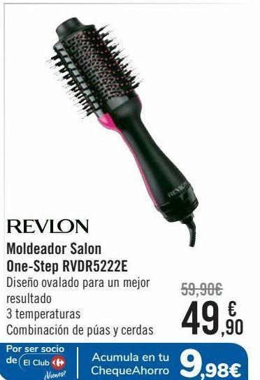 Oferta de REVLON Moldeador Salon One-Step RVDR5222E  por 49,9€