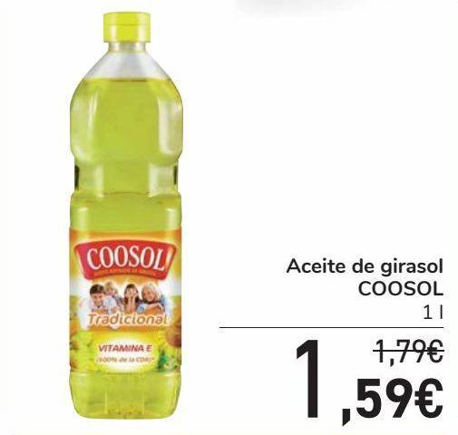 Oferta de Aceite de girasol COOSOL por 1,59€
