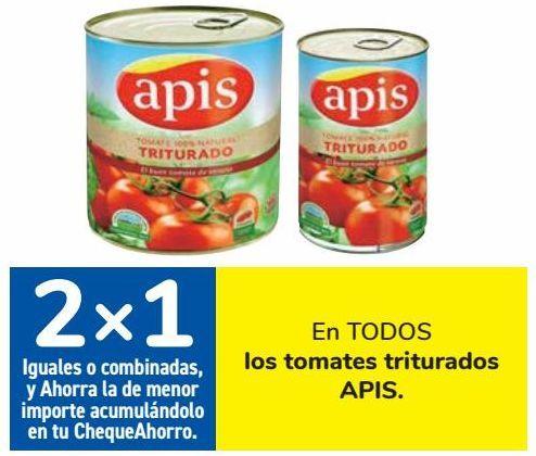 Oferta de En TODOS los tomates triturados APIS por