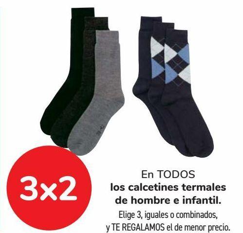 Oferta de En TODOS los calcetines termales de hombre e infantil  por