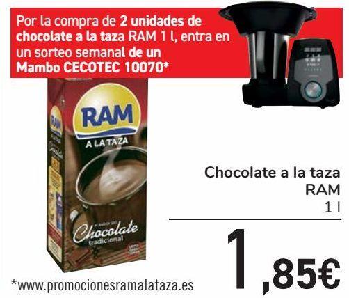 Oferta de Chocolate a la taza RAM por 1,85€