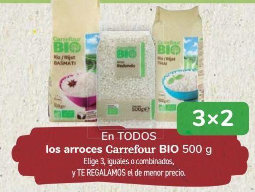 Oferta de En TODOS los arroces Carrefour BIO por