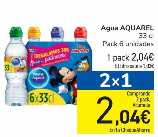 Oferta de Agua AQUAREL por 2,04€