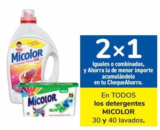 Oferta de En TODOS los detergentes MICOLOR por