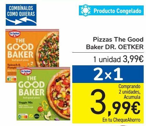Oferta de Pizzas The Good Baker DR.OETKER por 3,99€