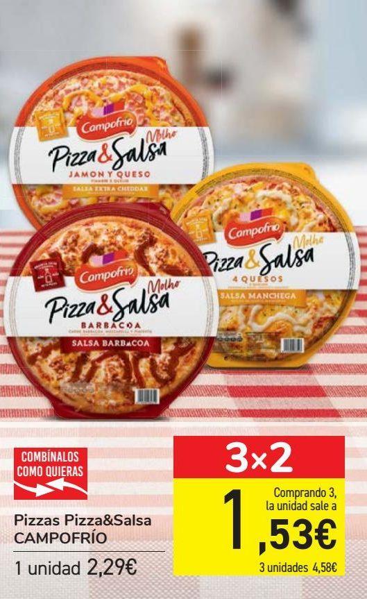 Oferta de Pizzas Pizza&Salsa CAMPOFRIO  por 2,29€