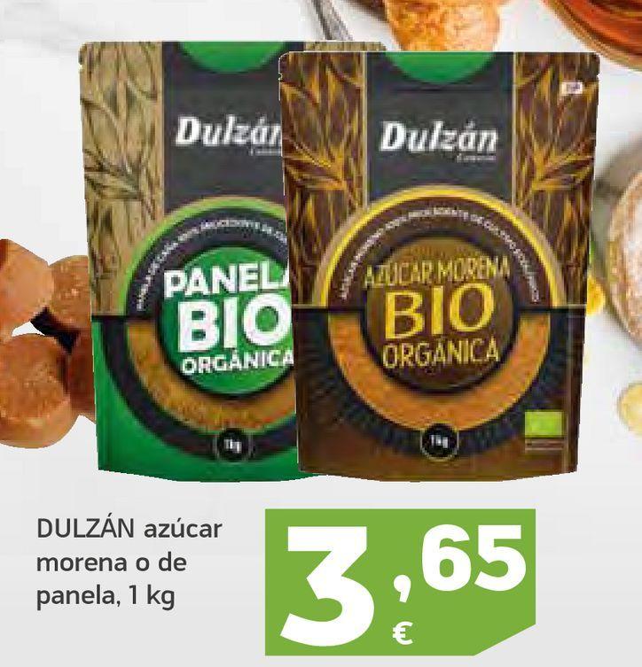 Oferta de Azúcar morena o de panela Dulzán por 3,65€