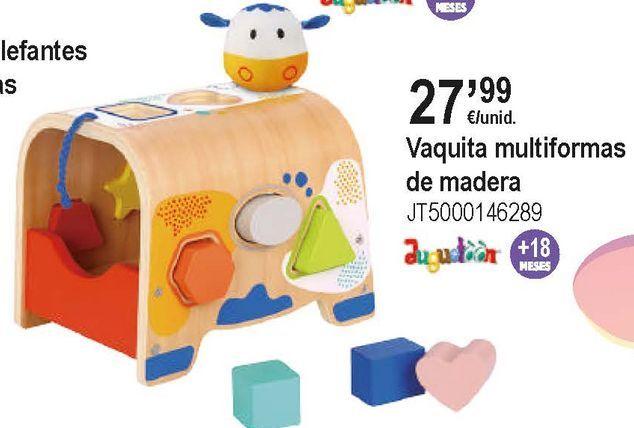 Oferta de Juguetes de madera por 27,99€