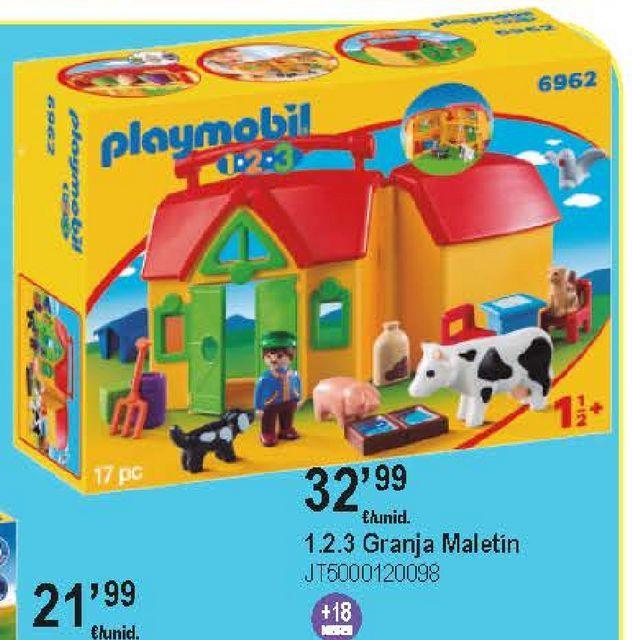Oferta de Granja de animales Playmobil por 32,99€