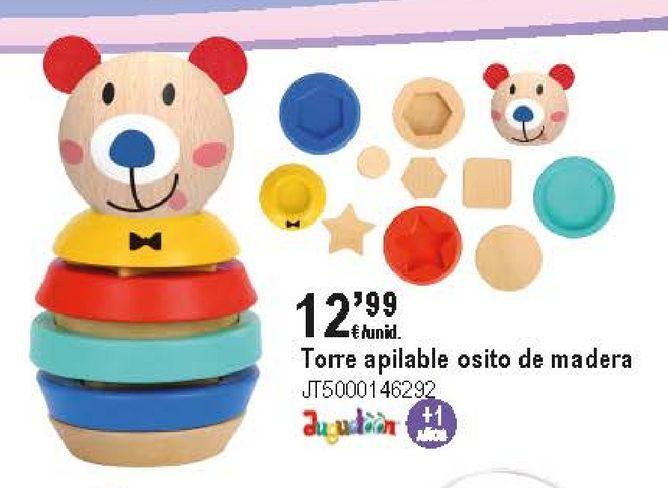 Oferta de Juguetes de madera por 12,99€