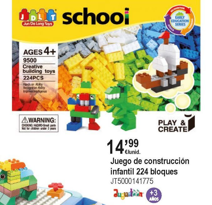 Oferta de Bloques de juguete por 14,99€