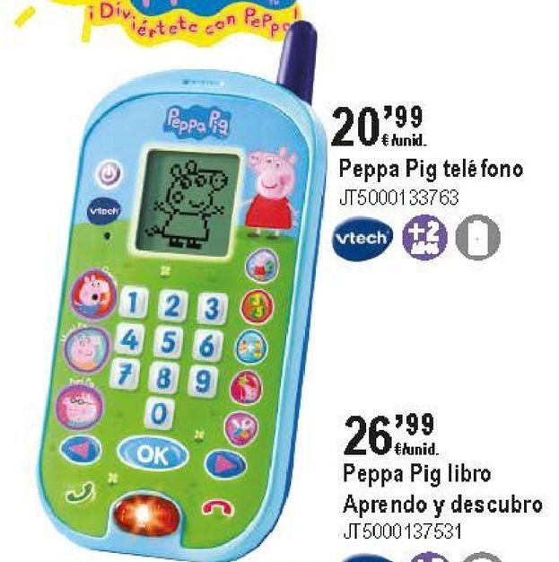 Oferta de Teléfono móvil Vtech por 20,99€