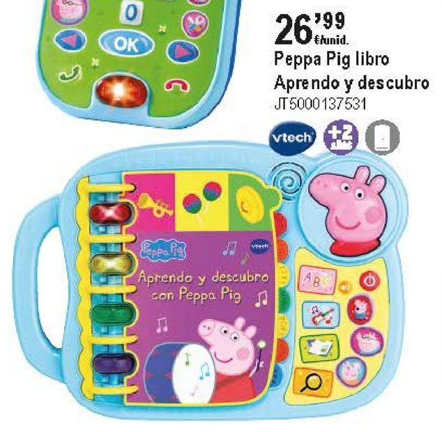 Oferta de Libros educativos Vtech por 26,99€