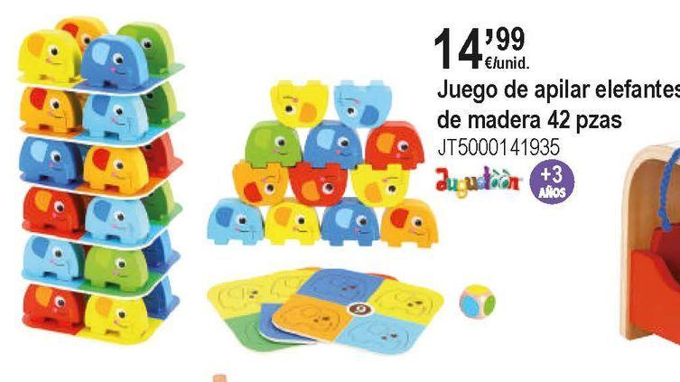Oferta de Juguetes de madera por 14,99€