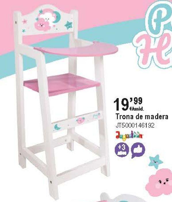 Oferta de Trona de muñeca por 19,99€