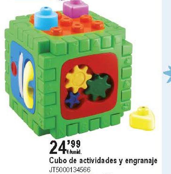 Oferta de Cubo de actividades y engranaje  por 24,99€
