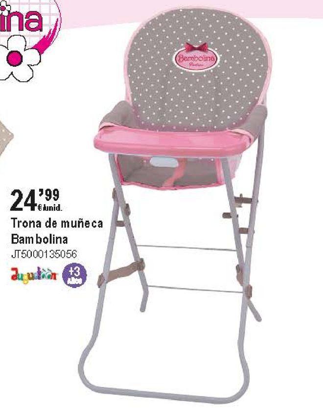 Oferta de Trona de muñeca por 24,99€