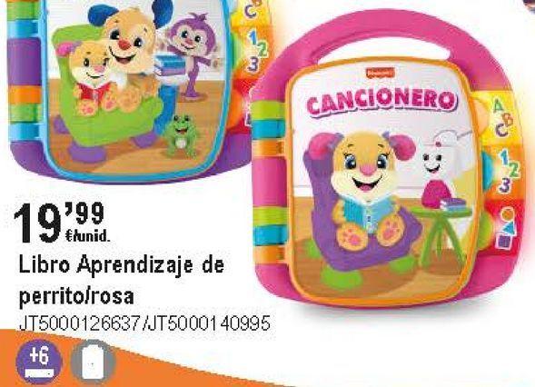 Oferta de Libros para bebés Mattel por 19,99€