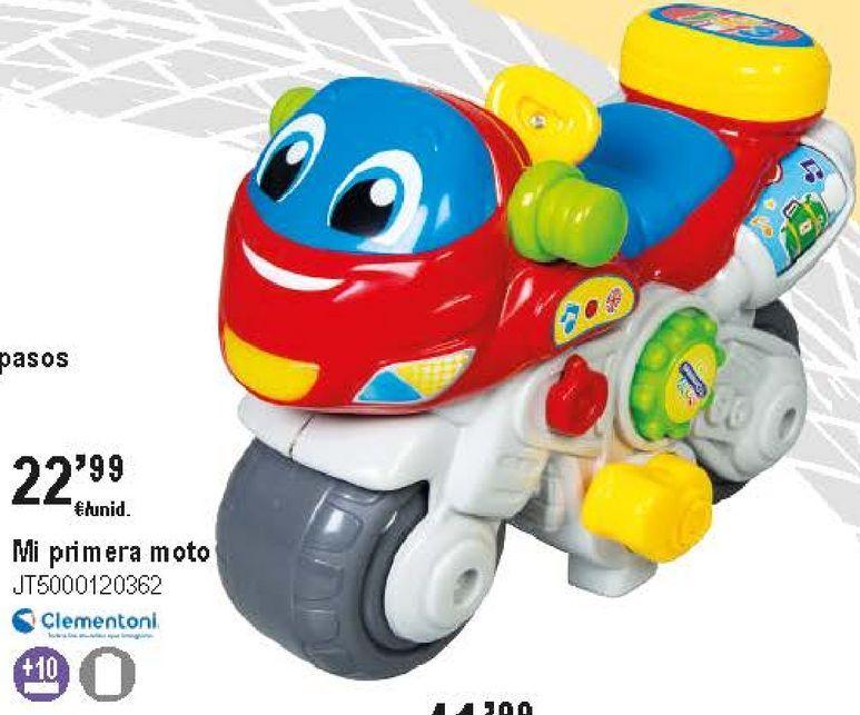 Oferta de Moto Clementoni por 22,99€