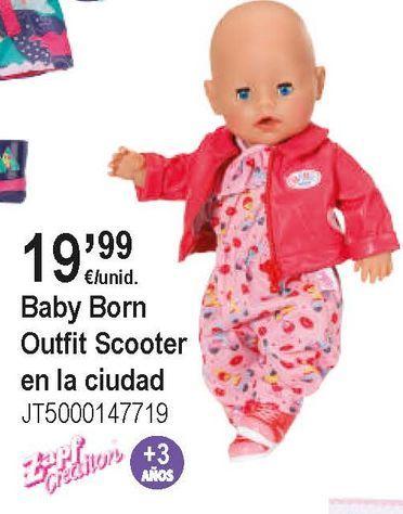 Oferta de Ropa baby born por 19,99€
