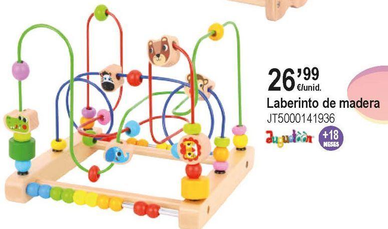 Oferta de Juguetes de madera por 26,99€