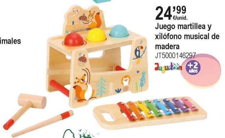 Oferta de Juguetes de madera por 24,99€