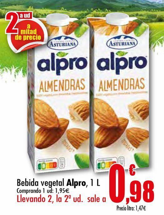 Oferta de Bebida vegetal Alpro por 1,95€