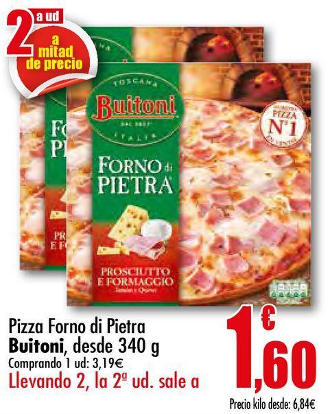 Oferta de Pizza forno di pietra Buitoni por 3,19€