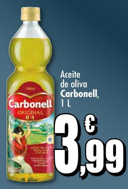 Oferta de Aceite de oliva Carbonell por 3,99€