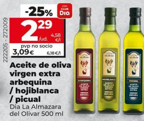 Oferta de Aceite de oliva virgen extra por 2,29€