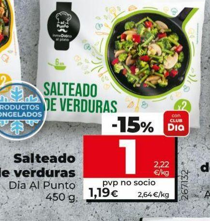 Oferta de Salteado de verduras por 1€