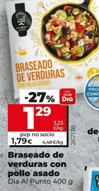 Oferta de Braseado de verduras por 1,29€